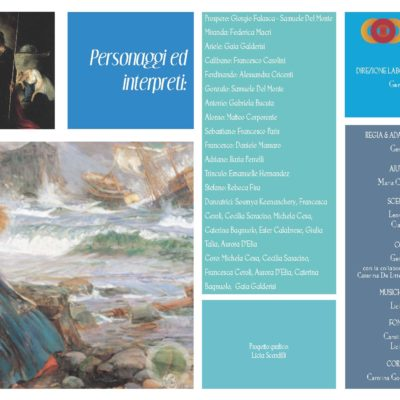 Brochure La Tempesta